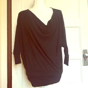 LAMade pullover with cowl neck size M